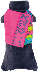 Акция на Комбинезон для собак Pet Fashion ENIGMA М Синий (4823082421398) от Rozetka