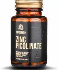 Акция на Grassberg Zinc Picolinate 15 mg Цинк 60 капсул от Stylus