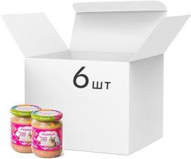 Акция на Упаковка влажного корма для кошек Леопольд Мясной рацион с индейкой 460 г х 6 шт. (4820185490764-6) от Rozetka