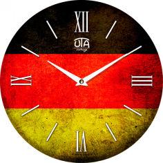 Акция на Настенные часы UTA 019 VT от Rozetka