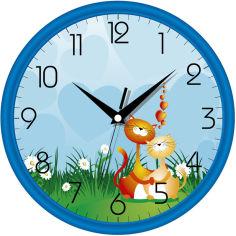 Акция на Настенные часы UTA 01 BL 19 от Rozetka