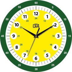 Акция на Настенные часы UTA 001 DS от Rozetka