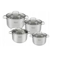 Акция на Набор кухонной посуды Edenberg EB-4073  из нержавеющей стали 8 Предметов от Allo UA