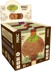 Акция на Упаковка печенья Pure Delight Американо Ассорти микс 50 г х 10 шт (4820158921462) от Rozetka