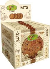 Акция на Упаковка печенья Pure Delight Американо Кето 50 г х 10 шт (4820158921066) от Rozetka