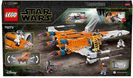 Акция на Конструктор Lego Star Wars Истребитель типа Х По Дамерона (75273) от Y.UA