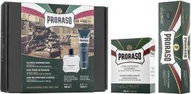 Акция на Подарочный набор для бритья Proraso Освежающая и тонизирующая свежесть с эвкалиптовым маслом и ментолом Крем 150 мл + Бальзам 100 мл (8004395004850) от Rozetka