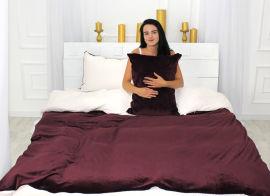 Акция на Комплект постельного белья MirSon Велюр Winter Delicate 28-0059 Honeysuckles Семейный (2200004033242) от Rozetka