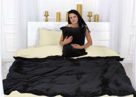 Акция на Комплект постельного белья MirSon Велюр Winter Terry 28-0044 Gloxinia Евро (2200004026060) от Rozetka