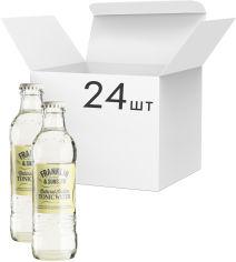 Акция на Упаковка напитка газированного Franklin & Sons Тоник Indian 0.2 л x 24 шт (5032678004870) от Rozetka