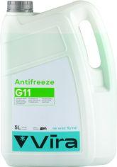Акция на Жидкость охлаждающая Vira -40 °C G11 зеленый 5 кг (VI0031) от Rozetka