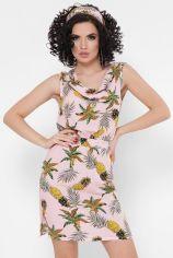 Акция на Платье FashionUp SRF-1770A 46 розовое повседневное до середины бедра от Stylus