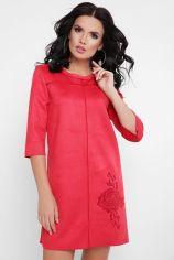 Акция на Платье FashionUp PL-1648B 46 красное повседневное короткое мини от Stylus