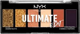 Акция на Палетка теней для век NYX Professional Makeup Ultimate 06 Utopia 4.5 г (800897207786) от Rozetka