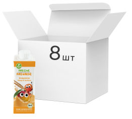 Акция на Упаковка органического спельтового напитка Freche Freunde Манго-Абрикос без сахара 250 мл х 8 шт (4260618523407) от Rozetka