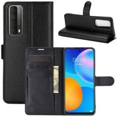 Акция на Чехол-книжка Litchie Wallet для Huawei P Smart 2021 Black от Allo UA