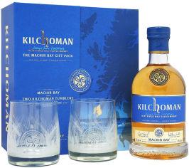 Акция на Виски Kilchoman Machir Bay 0.7 л 46% + 2 бокала (5060210702489) от Rozetka