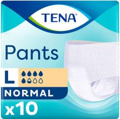 Акция на Подгузник -трусики для взрослых Tena Pants Normal Large 10 шт (7322540630657/7322541150994) от Rozetka