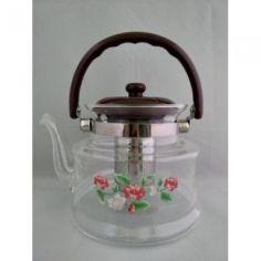 Акция на Стеклянный чайник-заварник А-Плюс TK-1042 1,4 литра от Allo UA