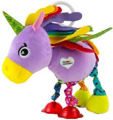 Акция на Развивающая игрушка Lamaze Розовый единорог (LC27561) (796714275611) от Rozetka