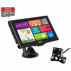 Акция на Навигатор MiXzo MX-760i 16GB ROM + Камера заднего вида + Di(ночной режим) + Карта памяти 32GB от Allo UA