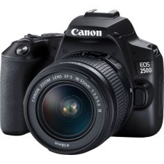 Акция на Фотоаппарат Canon EOS 250D kit 18-55 DC III Black от Allo UA