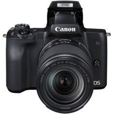 Акция на Фотоаппарат Canon EOS M50 + 15-45 IS STM + 22 STM Double Kit Black от Allo UA