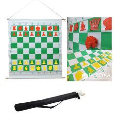 Акция на Демонстрационная шахматная доска Schach Queen Е51 на магнитах (20000000011660) от Rozetka