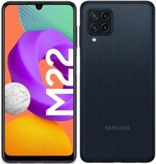 Акция на Смартфон Samsung Galaxy M22 4/128Gb Black от MOYO