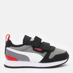 Акция на Кроссовки детские Puma R78 V PS 37361722 33 (1) 20 см Steel Gray-Puma White-Puma Black (4063699600315) от Rozetka
