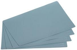 Акция на Набор кожаных подложек Mindo на стол 30х45 см 4 шт Голубых (md-k3-9233) от Rozetka