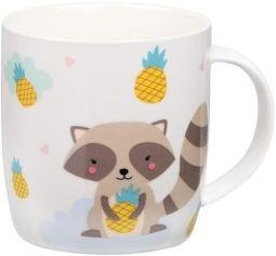 Акция на Чашка Ardesto Cute raccoon 350 мл, фарфор (AR3415) от MOYO