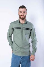 Акция на Рубашка с длинными рукавами в полоску 644f002 от Time Of Style