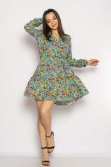 Акция на Платье в цветочек 632F012 от Time Of Style