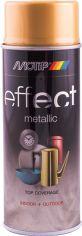 Акция на Эмаль аэрозольная с эффектом металлик Motip Deco Effect настоящее золото 400 мл (8711347216642) от Rozetka