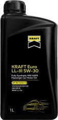 Акция на Моторное масло Kraft Euro LL-III 5W-30, 1 л (708133) от Rozetka