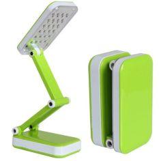 Акция на Настольная LED лампа трансформер светодиодная с аккумулятором (7892314) Зеленая от Allo UA