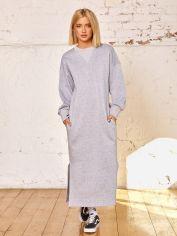 Акция на Платье ISSA PLUS 12946 XL Светло-серое (issa2007682119820) от Rozetka