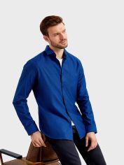 Акция на Рубашка O'STIN Casual MS1TB565XX-65 XXL Ярко-Синяя (2990034051834) от Rozetka