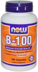 Акция на Now Foods Vitamin B-100 100 caps от Y.UA