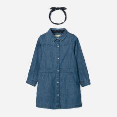 Акция на Платье джинсовое + повязка Zippy Ls Denim 3101837201 110 см Blue37 (5602156761603) от Rozetka