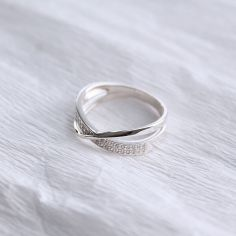 Акция на Серебряное кольцо Новая волна 20 от Allo UA