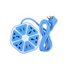 Акция на Тройник - Удлинитель для розеток и USB Nexagon Socket от Allo UA