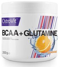 Акция на OstroVit Bcaa + Glutamine 200 g/ 20 servings / Lemon от Stylus
