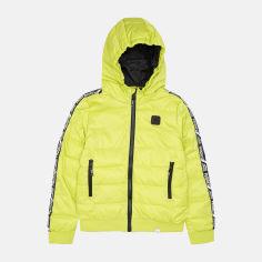 Акция на Демисезонная куртка Reporter Young 213-0882B-03-550-1 170 см Зеленая (5900703757537) от Rozetka