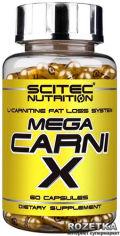 Акция на Жиросжигатель Scitec Nutrition Mega Carni-X 60 капсул (728633107254) от Rozetka