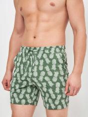 Акция на Шорты пижамные H&M 2807-6249011 S Бледно-зеленые ананасы (hm04525479701) от Rozetka