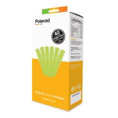 Акция на Набор картриджей для 3D ручки Polaroid Candy pen Яблоко 40 штук (PL-2508-00) от Будинок іграшок