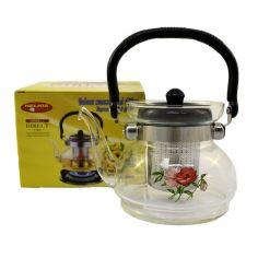 Акция на Заварочный чайник Helios с фильтром 0.6 л (6006) от Allo UA