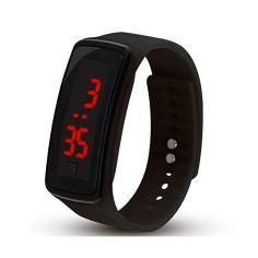 Акция на Часы ручные с лед подсветкой Led Watch Smart черные 150950 от Allo UA